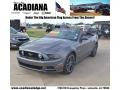 Sterling Gray Metallic 2013 Ford Mustang Gallery