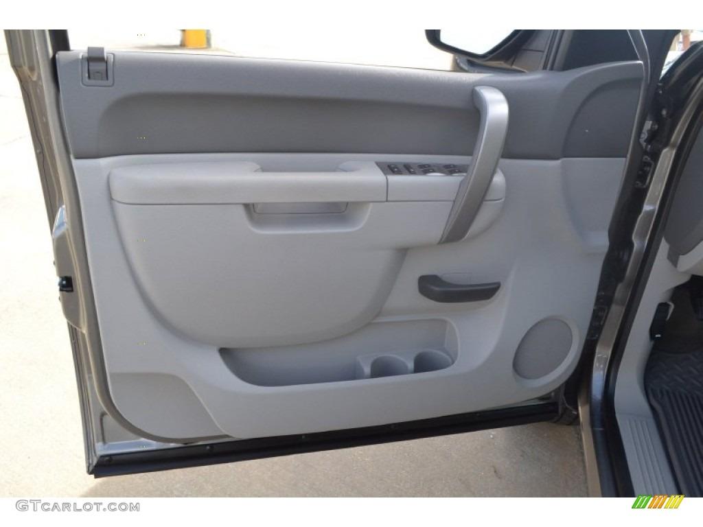 2012 Silverado 1500 LT Crew Cab - Graystone Metallic / Light Titanium/Dark Titanium photo #15