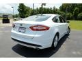 2013 Oxford White Ford Fusion SE  photo #5