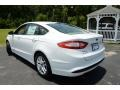 2013 Oxford White Ford Fusion SE  photo #7