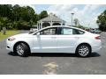 2013 Oxford White Ford Fusion SE  photo #8