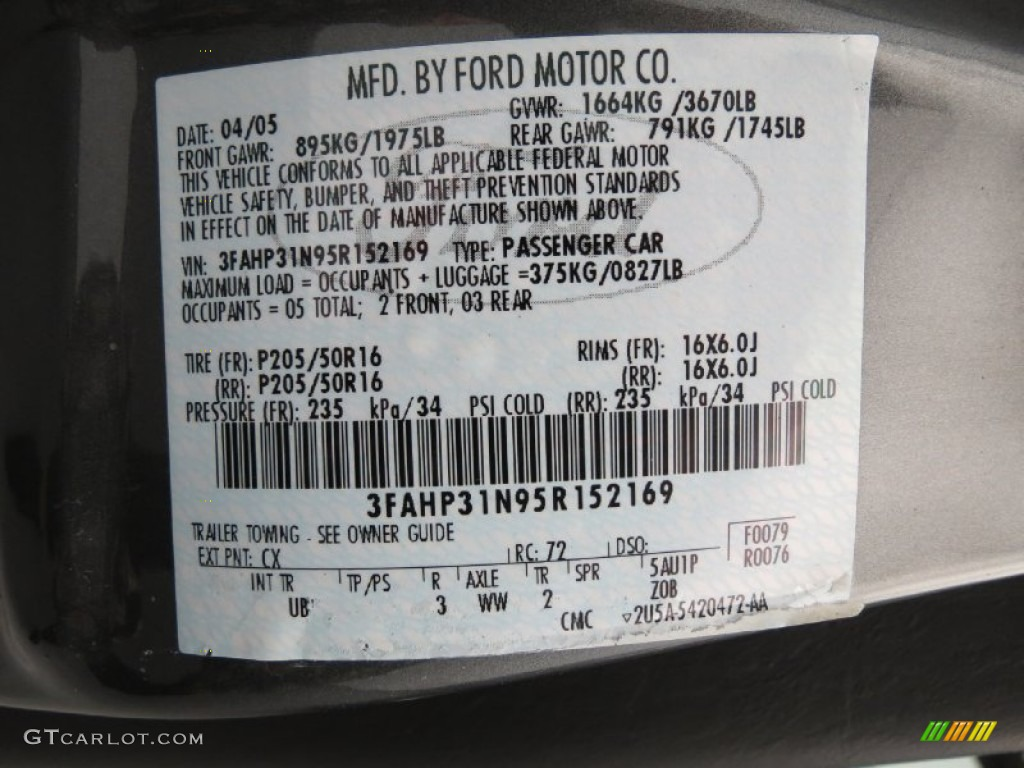 How To Find Ford Paint Code