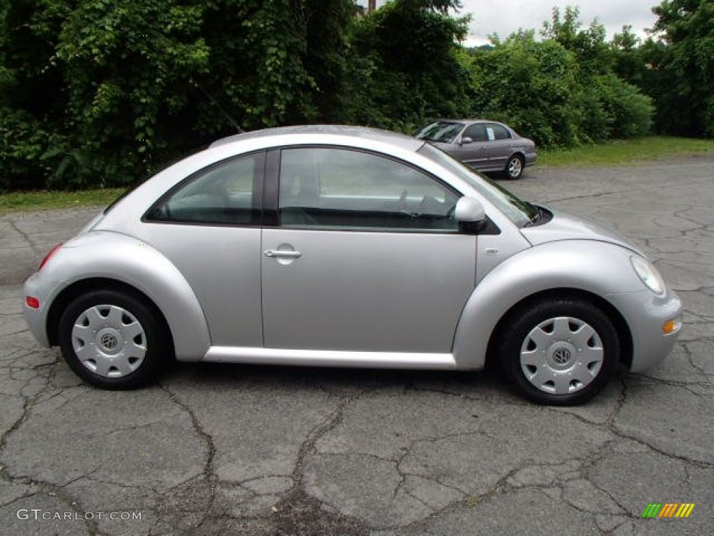 silver metallic 2000 volkswagen new beetle gl coupe exterior photo 82822615. Black Bedroom Furniture Sets. Home Design Ideas