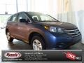 2013 Twilight Blue Metallic Honda CR-V LX  photo #1