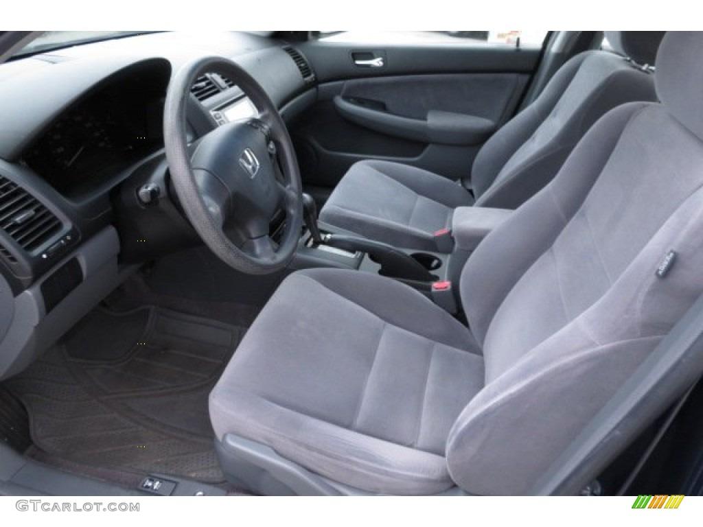 2007 honda accord value package sedan front seat photo 82831210. Black Bedroom Furniture Sets. Home Design Ideas