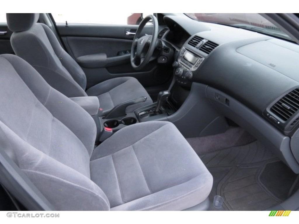 gray interior 2007 honda accord value package sedan photo 82831241. Black Bedroom Furniture Sets. Home Design Ideas