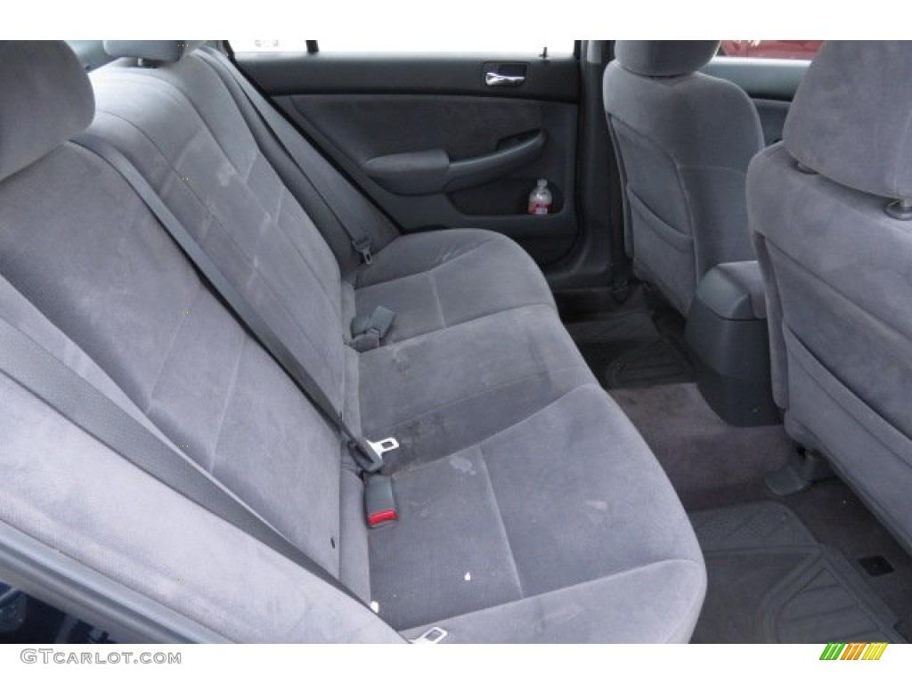 2007 honda accord value package sedan rear seat photo 82831264. Black Bedroom Furniture Sets. Home Design Ideas
