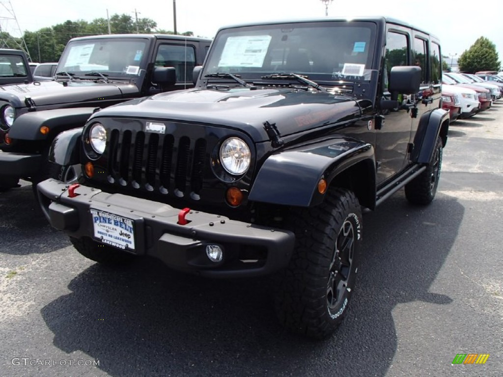 2013 Jeep wrangler unlimited rubicon 10th anniversary black