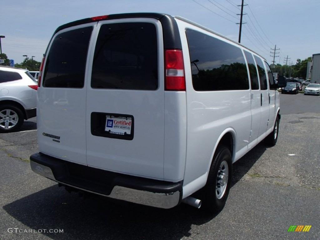 White Passenger Van 2012 Summit White Chev...