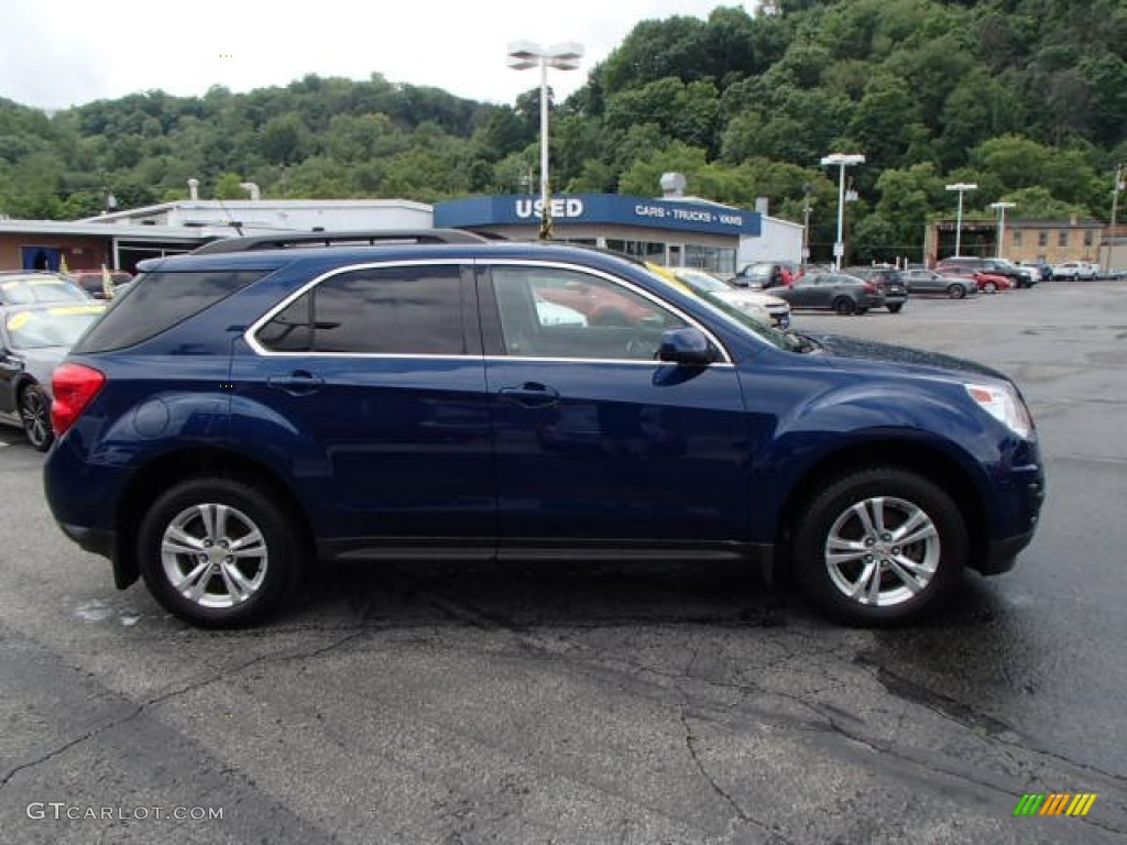 2010 Equinox LT AWD - Navy Blue Metallic / Jet Black/Light Titanium photo #1