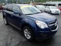 2010 Navy Blue Metallic Chevrolet Equinox LT AWD  photo #2