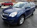 2010 Navy Blue Metallic Chevrolet Equinox LT AWD  photo #4