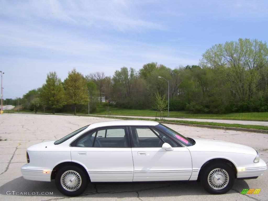 Bright White Oldsmobile Regency