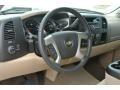 2013 Chevrolet Silverado 1500 Light Cashmere/Dark Cashmere Interior Dashboard Photo