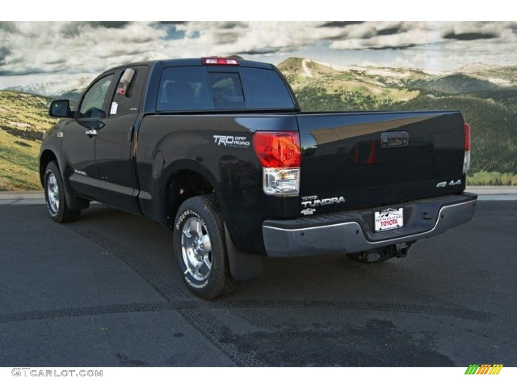 2013 Tundra Limited Double Cab 4x4 - Black / Red Rock photo #2