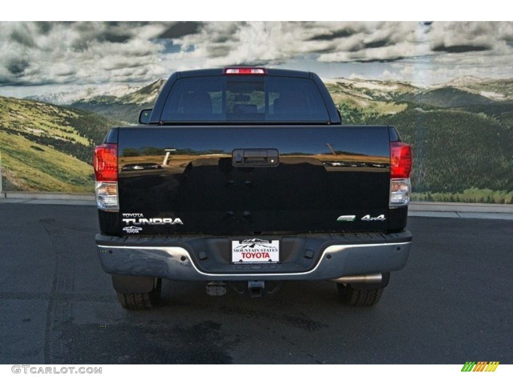 2013 Tundra Limited Double Cab 4x4 - Black / Red Rock photo #4