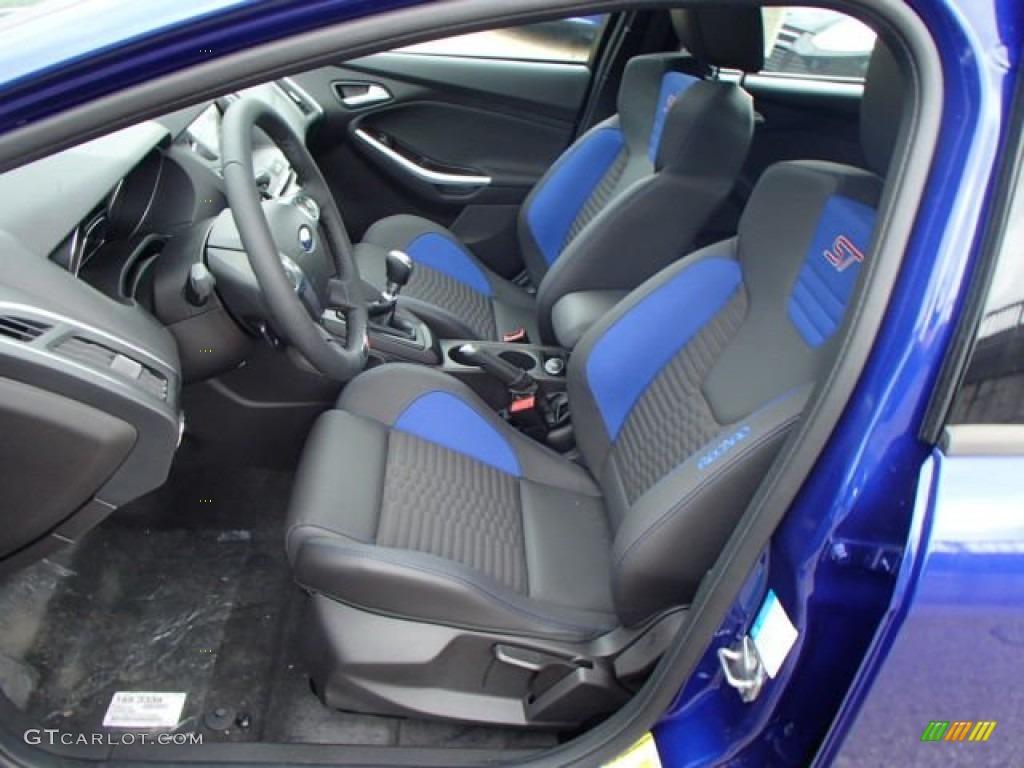 st performance blue recaro seats interior 2013 ford focus st hatchback photo 82841128. Black Bedroom Furniture Sets. Home Design Ideas