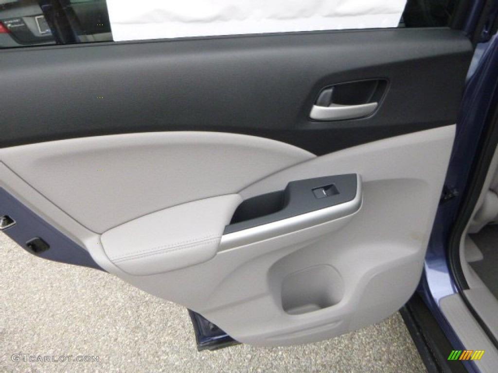 2013 CR-V EX-L AWD - Twilight Blue Metallic / Gray photo #13