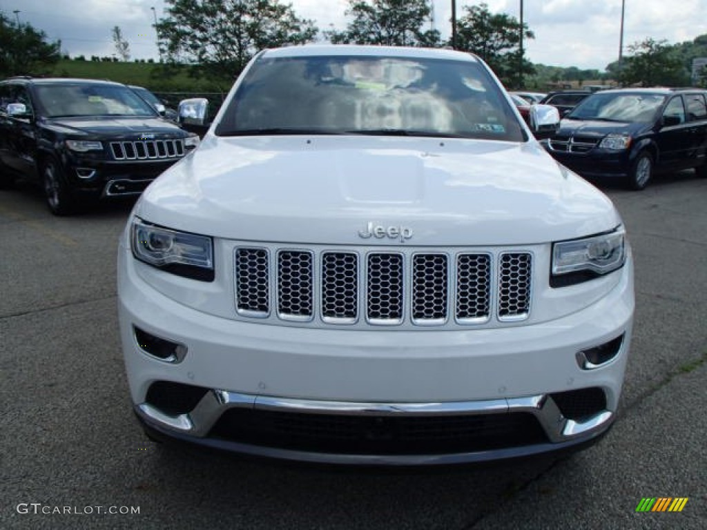 bright white 2014 jeep grand cherokee summit 4x4 exterior photo 82859345. Black Bedroom Furniture Sets. Home Design Ideas