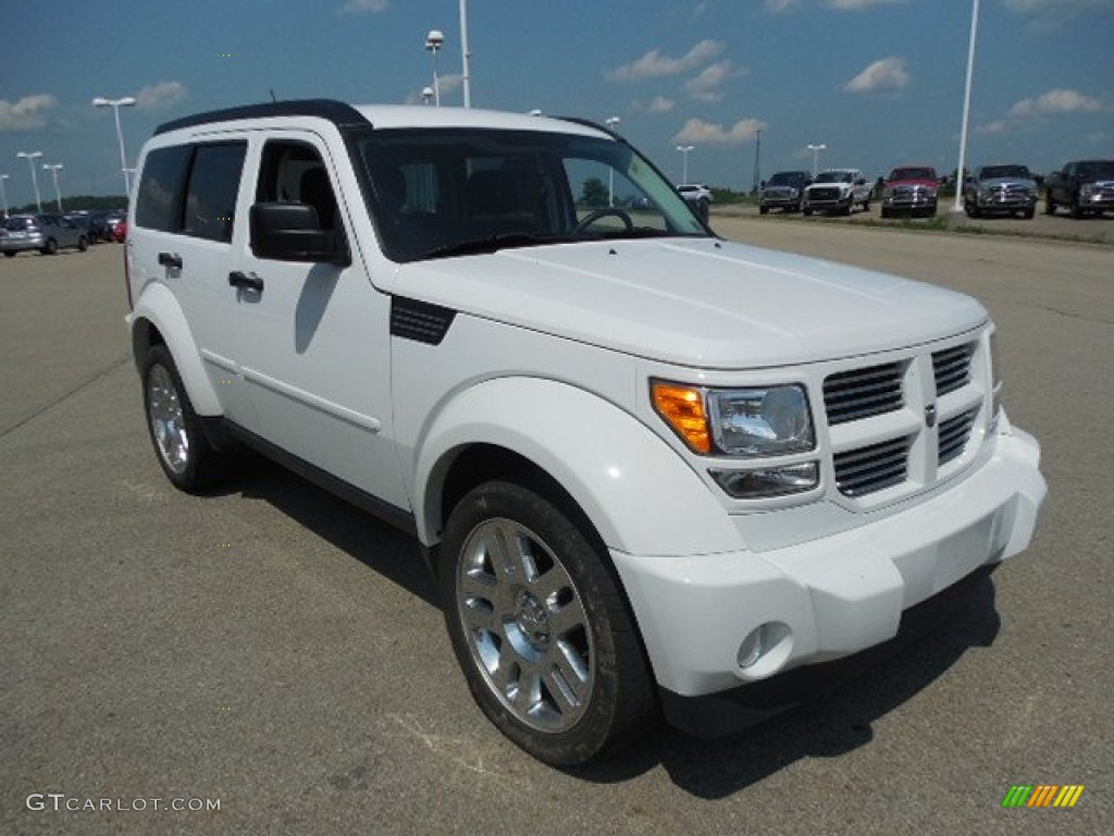 bright white 2011 dodge nitro heat 4x4 exterior photo 82865183. Black Bedroom Furniture Sets. Home Design Ideas