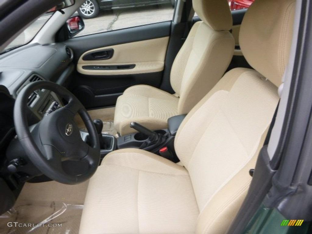 2007 Subaru Impreza Outback Sport Wagon Interior Photo