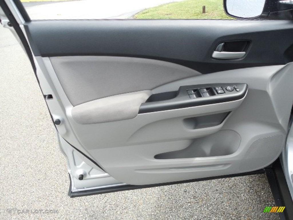 2013 CR-V EX AWD - Alabaster Silver Metallic / Gray photo #6