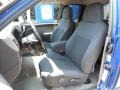 2005 GMC Canyon Dark Pewter Interior Front Seat Photo