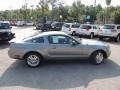 2007 Tungsten Grey Metallic Ford Mustang V6 Deluxe Coupe  photo #6