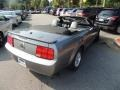 2007 Satin Silver Metallic Ford Mustang V6 Deluxe Convertible  photo #11