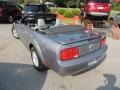 2007 Satin Silver Metallic Ford Mustang V6 Deluxe Convertible  photo #13