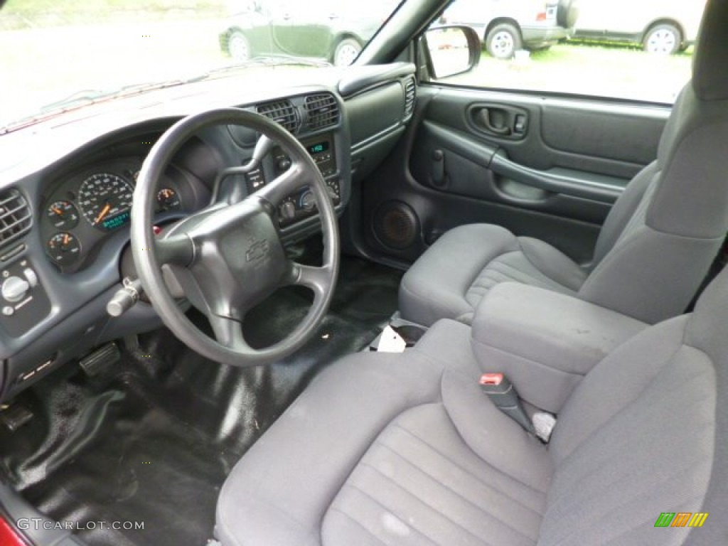 2003 Chevrolet S10 Extended Cab Interior Color Photos