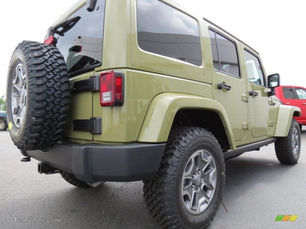 Commando Green 2013 Jeep Wrangler Unlimited Rubicon 4x4