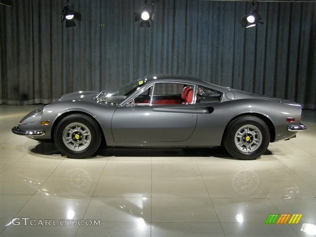Grey 1972 Ferrari Dino 246 Gt Exterior Photo 82908