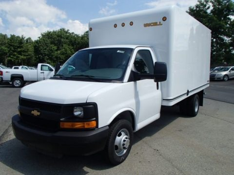 2013 Chevrolet Express Cutaway 3500 Moving Van Data, Info and Specs