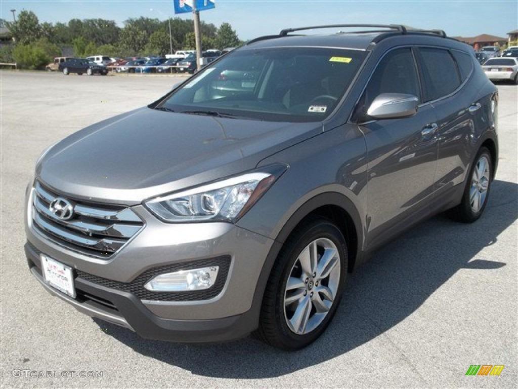 2013 Mineral Gray Hyundai Santa Fe Sport 2 0t 82895671 Gtcarlot Com Car Color Galleries