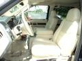 2009 Ford F250 Super Duty Camel Interior Front Seat Photo
