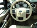 2009 Ford F250 Super Duty Camel Interior Steering Wheel Photo