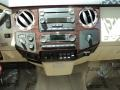 2009 Ford F250 Super Duty Camel Interior Controls Photo