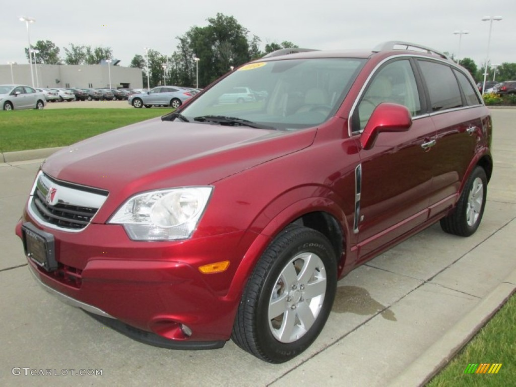ruby red 2008 saturn vue xr awd exterior photo 82925689. Black Bedroom Furniture Sets. Home Design Ideas