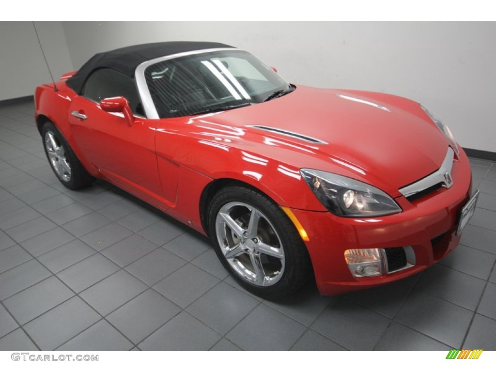 chili pepper red 2009 saturn sky red line roadster exterior photo 82925734. Black Bedroom Furniture Sets. Home Design Ideas