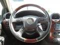 2005 GMC Envoy Ebony Interior Steering Wheel Photo
