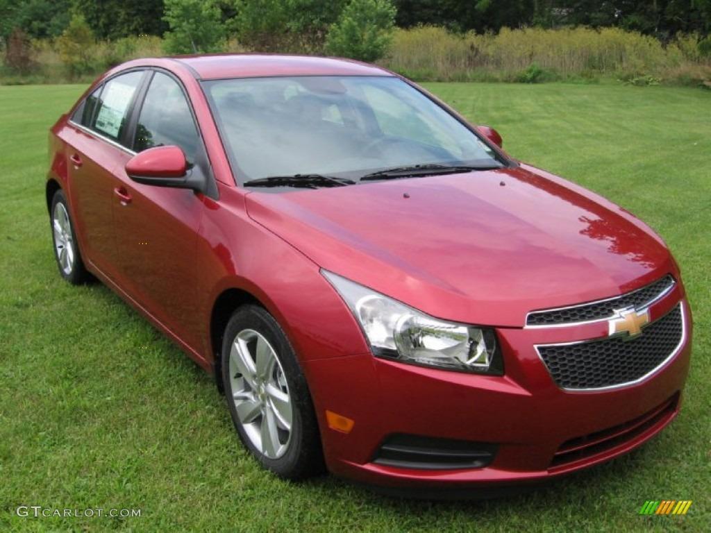 2014 Crystal Red Tintcoat Chevrolet Cruze Diesel 82925485 Car Color Galleries