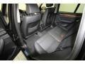 2014 BMW X3 Black Interior Rear Seat Photo