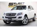 Arctic White 2011 Mercedes-Benz ML 350 4Matic