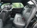 2005 Cadillac DeVille Black Interior Rear Seat Photo