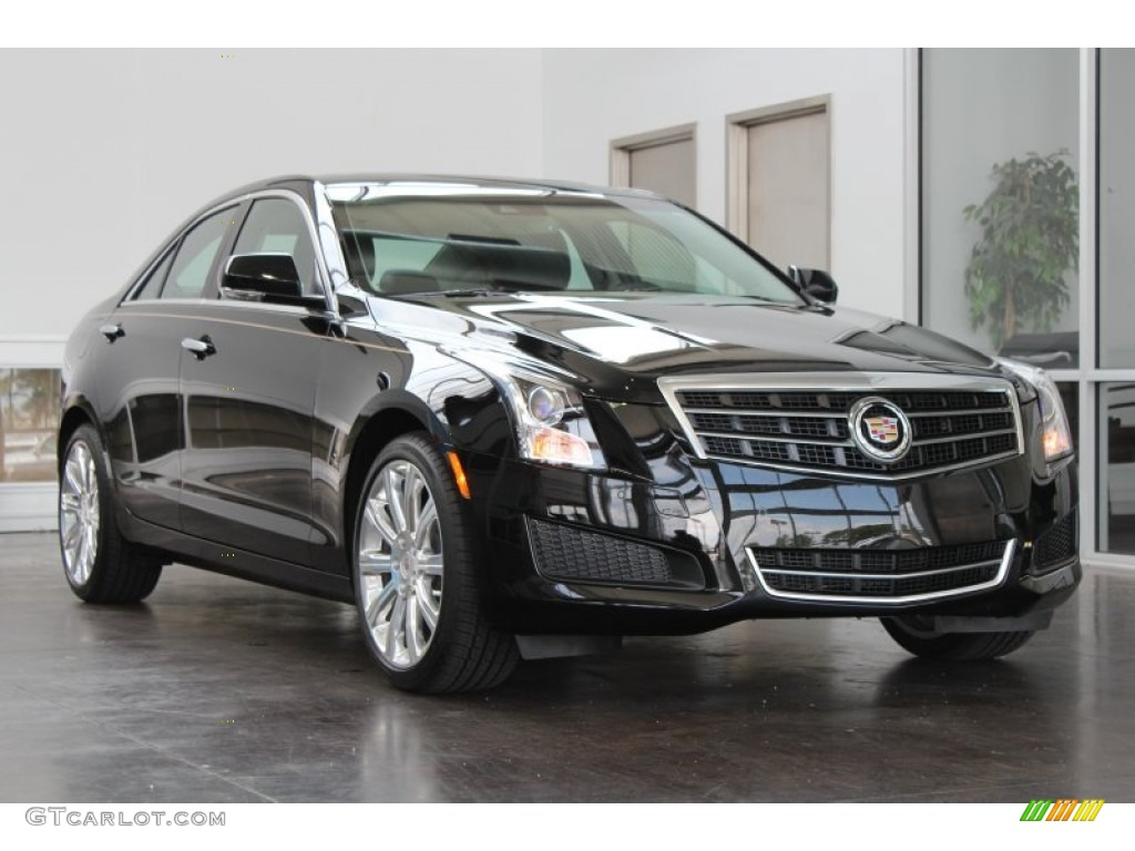 black raven 2013 cadillac ats 3 6l luxury exterior photo 82979447. Black Bedroom Furniture Sets. Home Design Ideas