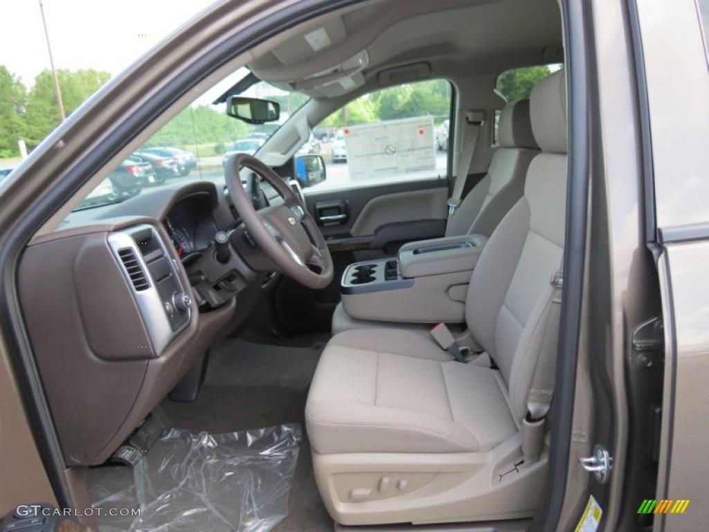 Cocoa/Dune Interior 2014 Chevrolet Silverado 1500 LT Crew Cab Photo #82994330 | GTCarLot.com