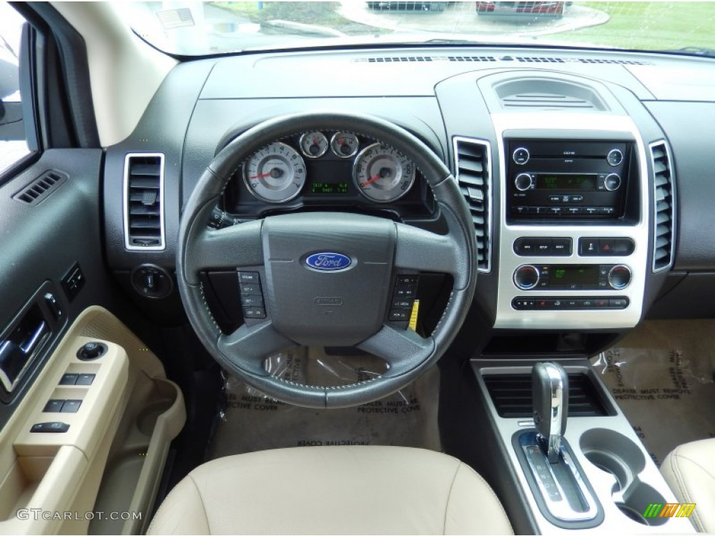 2008 Ford Edge Limited Camel Dashboard Photo 82999805