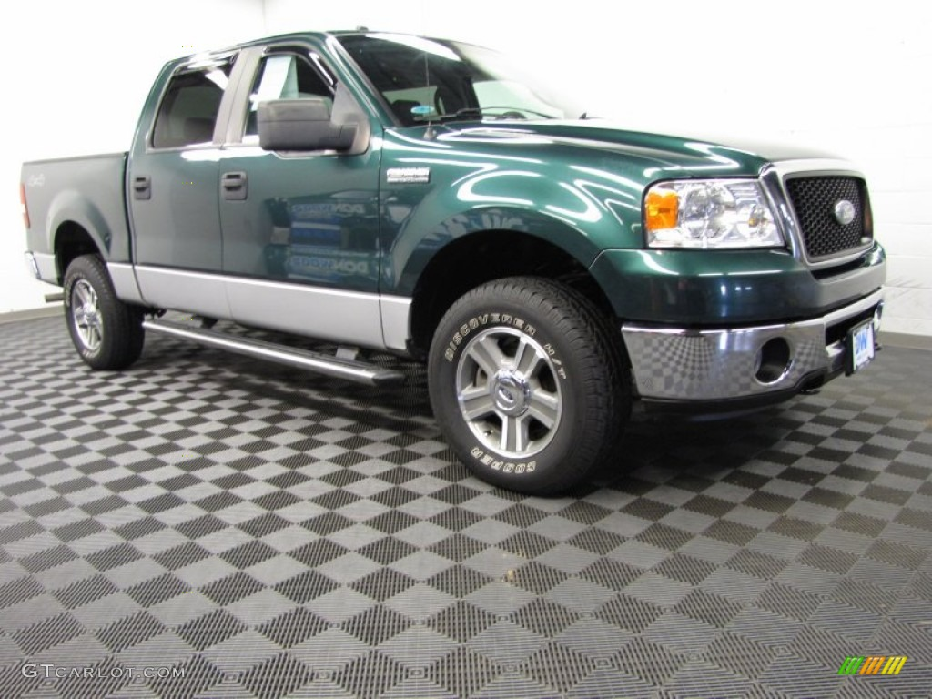 2007 Forest Green Metallic Ford F150 Xlt Supercrew 4x4 82970047 Gtcarlot Com Car Color Galleries