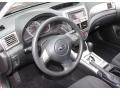 2010 Subaru Impreza Carbon Black Interior Dashboard Photo